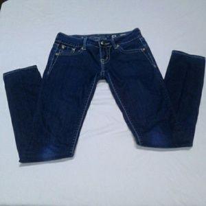 """Miss Me Jeans Women's Skinny 25 """" W 32 """" L"""